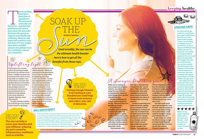 yours magazine vitamin D